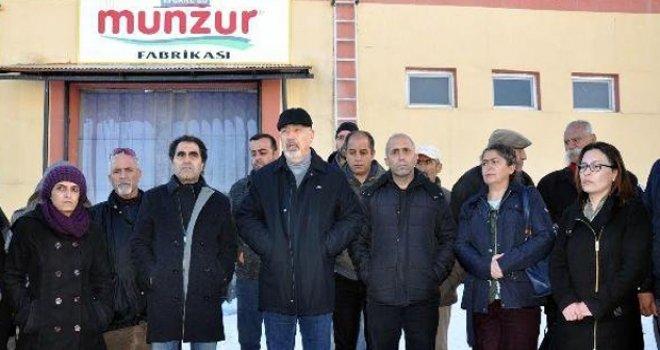 Tunceli'nin tek fabrikası yeniden üretime başladı